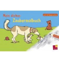 Tessloff - Malen, Rätseln & mehr - Mein dickes Zaubermalbuch, mit 40 Zauberseiten