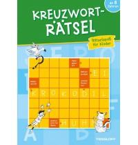 Tessloff - Malen, Rätseln & mehr - Kreuzworträtsel - Rätselspaß für Kinder, blau
