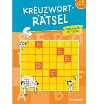 Tessloff - Malen, Rätseln & mehr - Kreuzworträtsel-Rätselspaß für Kinder (orange)