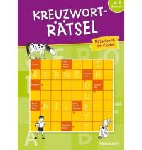 Tessloff - Malen, Rätseln & mehr - Kreuzworträtsel- Rätselspaß für Kinder (grün)