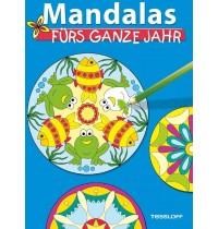 Tessloff - Malen, Rätseln & mehr - Mandalas fürs ganze Jahr