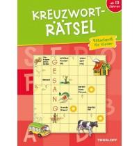 Tessloff - Malen, Rätseln & mehr - Kreuzworträtsel für Kinder (rot)