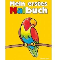 Tessloff - Malen, Rätseln & mehr - Mein erstes Malbuch, gelb