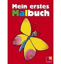 Tessloff - Malen, Rätseln & mehr - Mein erstes Malbuch, rot