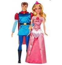 Mattel - Disney™ Princess - Dornröschen und Prinz Phillip Puppenset