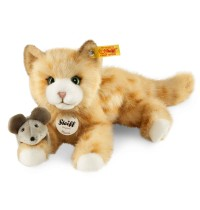Steiff - Kuscheltiere - Haus- & Hoftiere - Mimmi Katze, rot gestromelt, 24cm