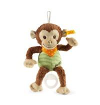 Steiff - Babywelt - Spielzeug - Spieluhren - Jocko Äffchen Spieluhr, braun/beige/grün, 22cm