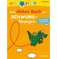 Tessloff - Lernstern - Mein dickes Buch der Schwungübungen Schustart