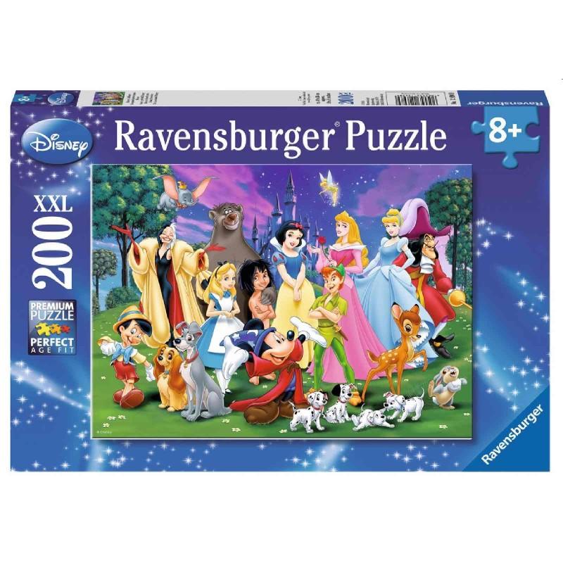 Ravensburger Puzzle - Disney™ Lieblinge, 200 XXL-Teile_Ravensburger ...