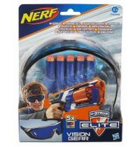 Hasbro - Nerf N-Strike Elite Brille + 5 Darts