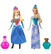 Mattel - Frozen - Die Eiskönigin - Farbwechselzauber Anna & Elsa, sortiert