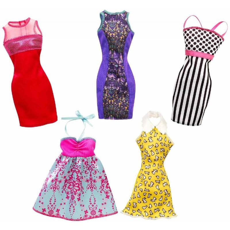 Mattel Barbie Kleider Sortimentbarbie0887961060706