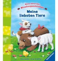 Ravensburger Bilderbuch - Meine allerersten Minutengeschichten: Meine liebsten Tiere