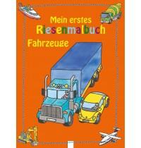 Arena Verlag - Mein erstes Riesenmalbuch - Fahrzeuge