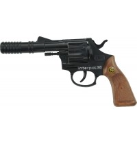 J.G. Schrödel - Interpol 38, 12-Schuss Pistole. Knalllautstärke: 125 db
