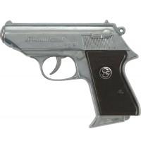 J.G. Schrödel - Kommissar, 13-Schuss Pistole Knalllautstärke: 125 db