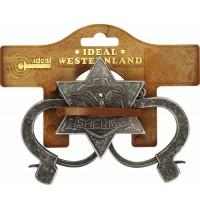 J.G. Schrödel - Sheriff-Set antik