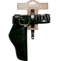 J.G. Schrödel - Ledergürtel 90cm, 1 Tasche