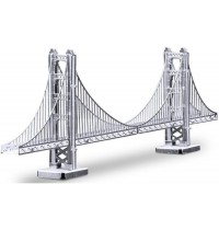 Metalearth - Bauwerke - Golden Gate Bridge, 2001 3 Bogen