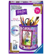 Ravensburger Puzzle - 3D Puzzles - Girly Girl Edition Utensilo - Pferde, 54 Teile