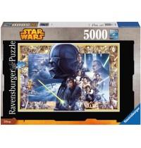 Ravensburger Puzzle - Star Wars™ Saga XXL, 5000 Teile