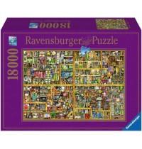 Ravensburger Puzzle - Magisches Bücherregal XXL, 18000 Teile