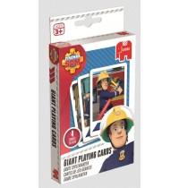 Jumbo Spiele - Feuerwehrmann Sam - Große Spielkarten