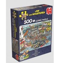 Jumbo Spiele - Jan van Haarsteren - Seehafen, 500 Teile