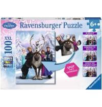 Ravensburger Puzzle - Frozen - Die Eiskönigin - Frozen Difference, 100 XXL-Teile