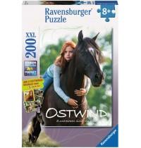 Ravensburger Puzzle - Mika und Ostwind, 200 XXL-Teile