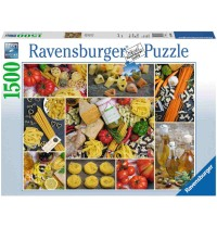 Ravensburger Puzzle - Zeit für Pasta!, 1500 Teile