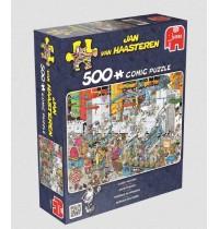 Jumbo Spiele - Jan van Haasteren - Süßigkeiten Fabrik, 500 Teile