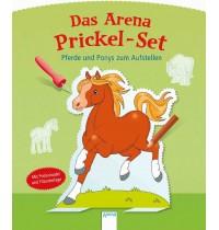 Arena Verlag - Das Arena Prickel-Set - Pferde und Ponys zum Aufstellen