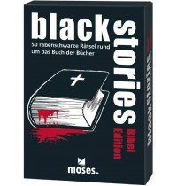 moses. - Black stories - Bibel Edition
