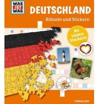 Tessloff - Was ist Was - Rätseln und Stickern - Deutschland