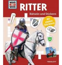 Tessloff - Was ist Was - Rätseln und Stickern - Ritter