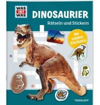 Tessloff - Was ist Was - Rätseln und Stickern - Dinosaurier