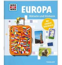 Tessloff - Was ist Was - Rätseln und Stickern - Europe