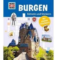 Tessloff - Was ist Was - Rätseln und Stickern - Burgen