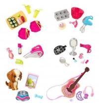 Mattel - Barbie - Wohnaccessoires Sortiment im 2-Stück Spender