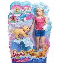 Mattel - Barbie - Hundebad