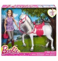 Mattel - Barbie und Pferd