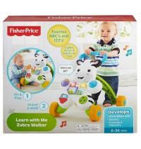 Fisher Price® - Lern mit mir – Zebra Lauflernwagen