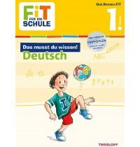 Tessloff - Fit für die Schule - Das musst du wissen! Deutsch 1. Klasse