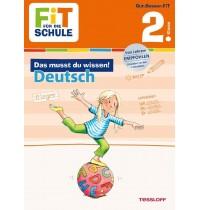 Tessloff - Fit für die Schule - Das musst du wissen! Deutsch 2. Klasse