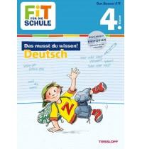 Tessloff - Fit für die Schule - Das musst du wissen! Deutsch 4. Klasse