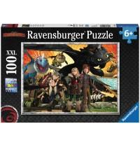 Ravensburger Puzzle - Dragons - Drachenfreunde, 100 Teile