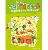 Tessloff - Malen, Rätseln und mehr - Rätsel - Total verrückte Labyrinthe und Suchbilder, grün
