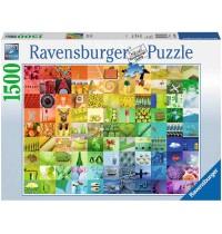 Ravensburger Puzzle - 99 Beautiful Colors, 1500 Teile