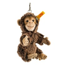 Steiff - Steiffs Minis - Schlüsselanhänger - Anhänger Affe, dunkelbraun gespitzt, 12cm
